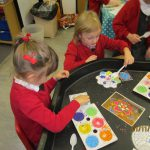 Reception learn about Diwali