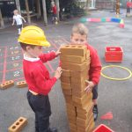 Reception pupils settling well