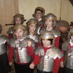 Tewkesbury Invades the Roman Town of Caerleon!