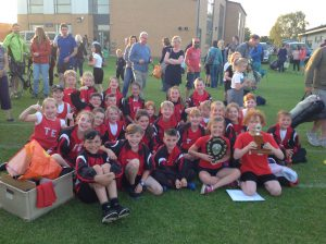 Athletics success at Tewkesbury School