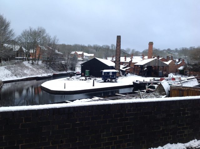 Black Country Museum in the snow!
