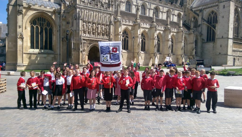Year 6 Leavers' service at Gloucester Cathedral