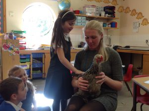 Year 1 have special visitors in this week's science lesson!
