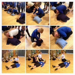 First Aid Training for Pupils