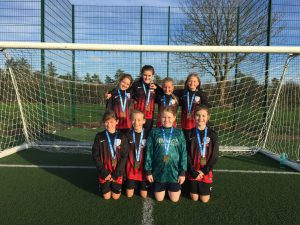 Girls Football Success