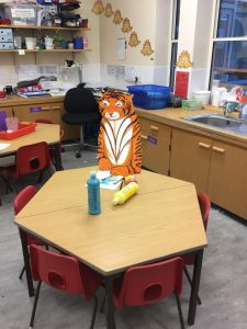 The tiger who came to school!