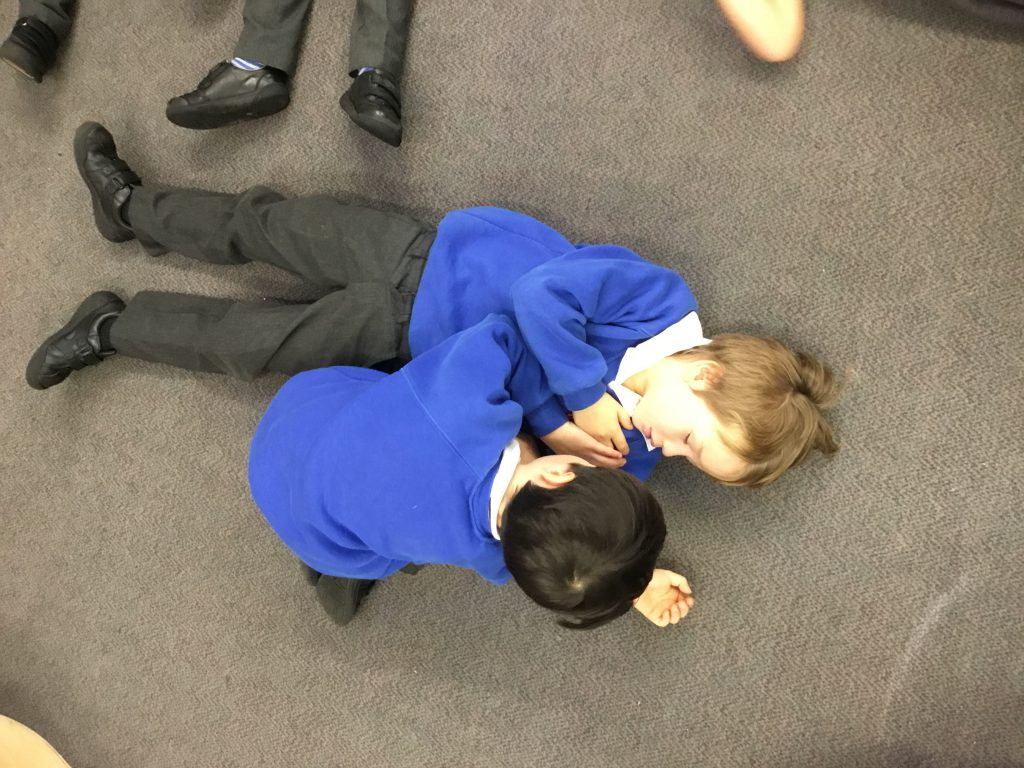 First Aid Training for Year 1