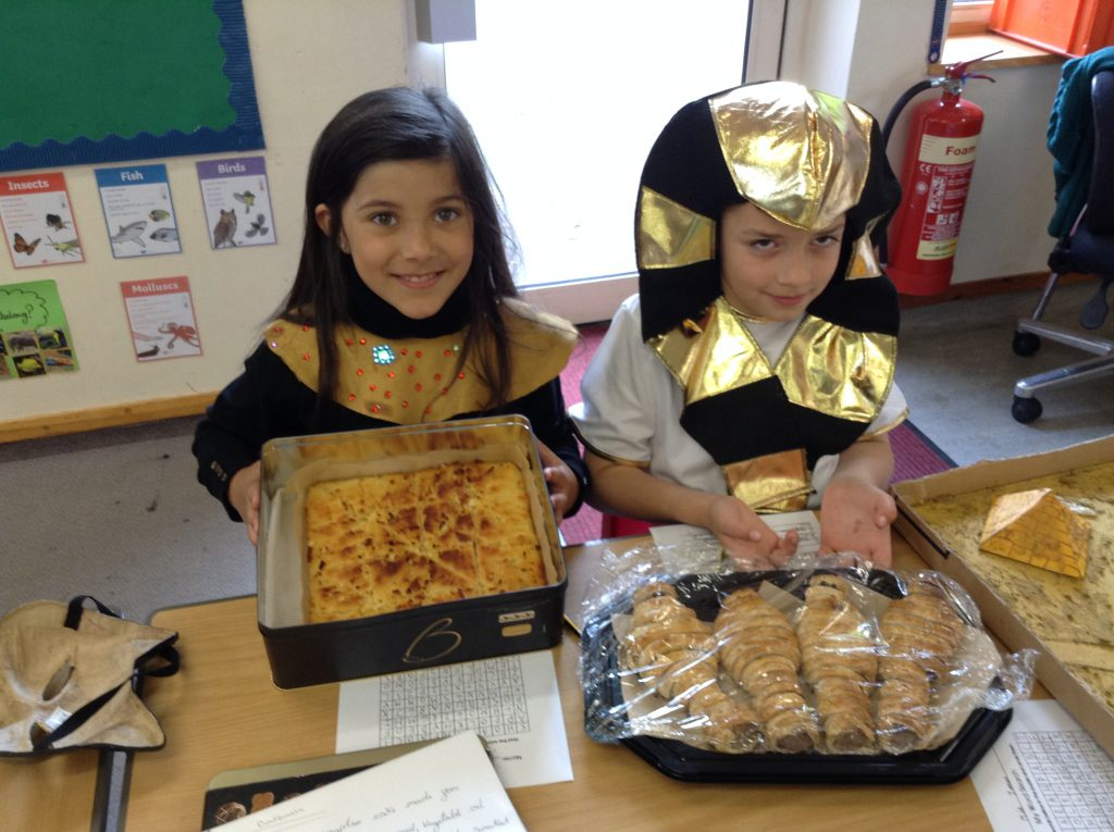 Year 4 travel back to Ancient Egypt!