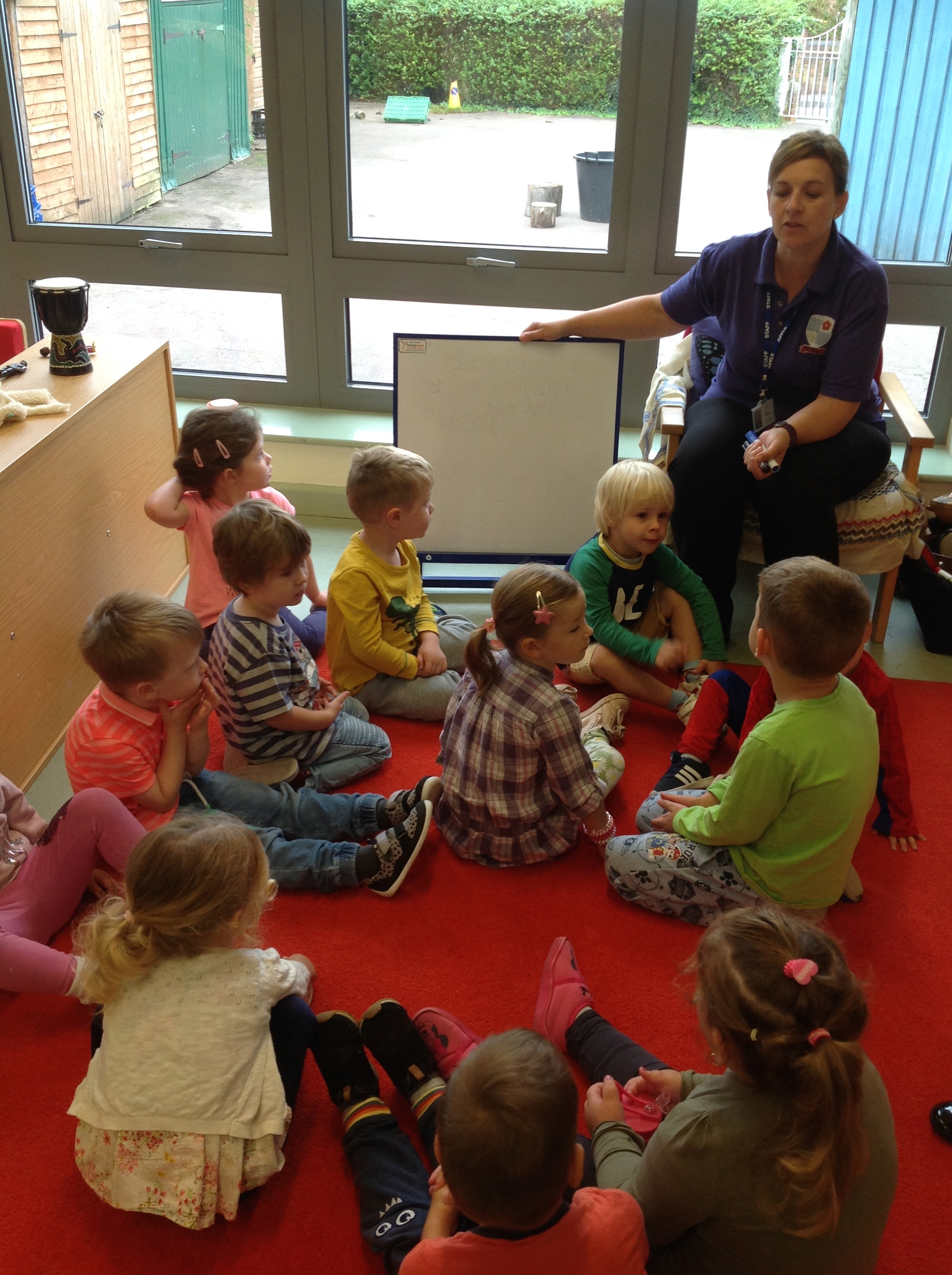 A busy start to our new term in Pre – School!