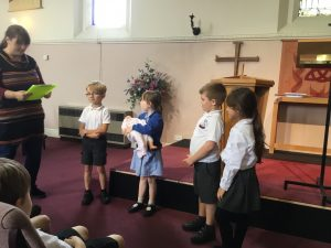 A Mock Baptism for Year One
