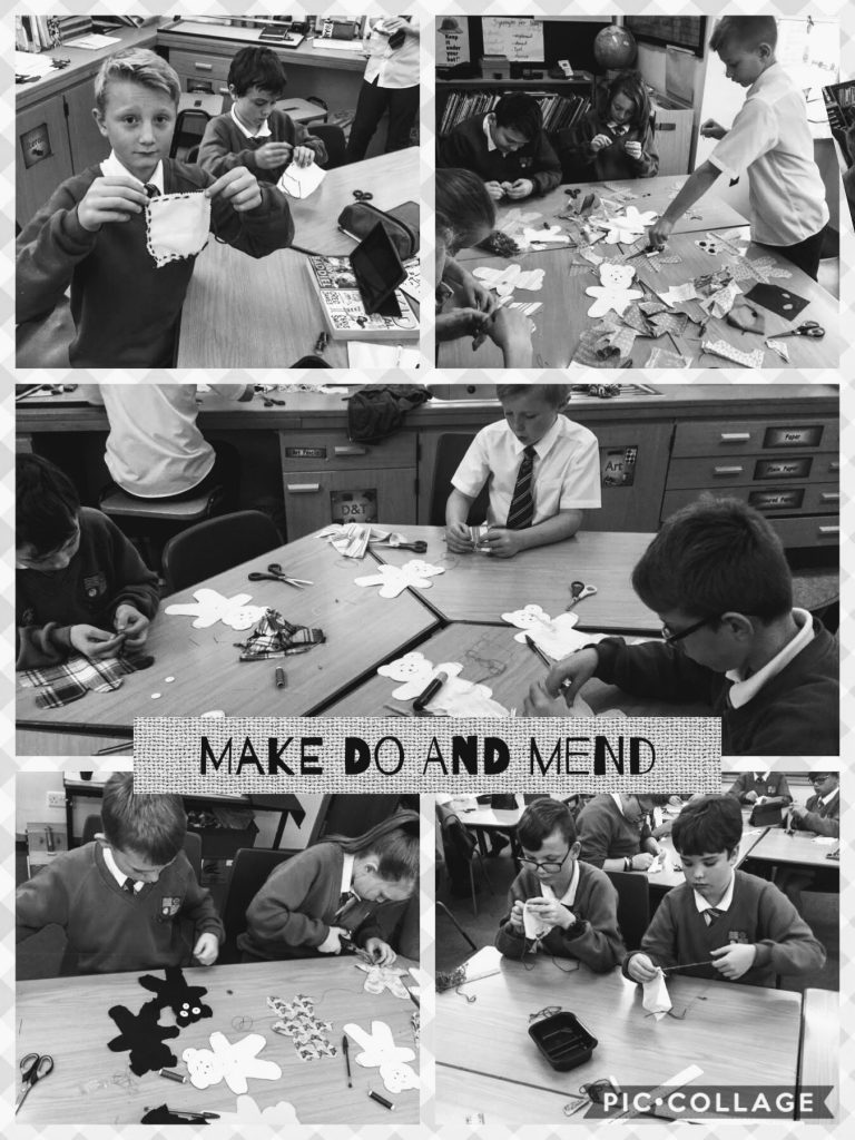 Year 6 Make Do and Mend!