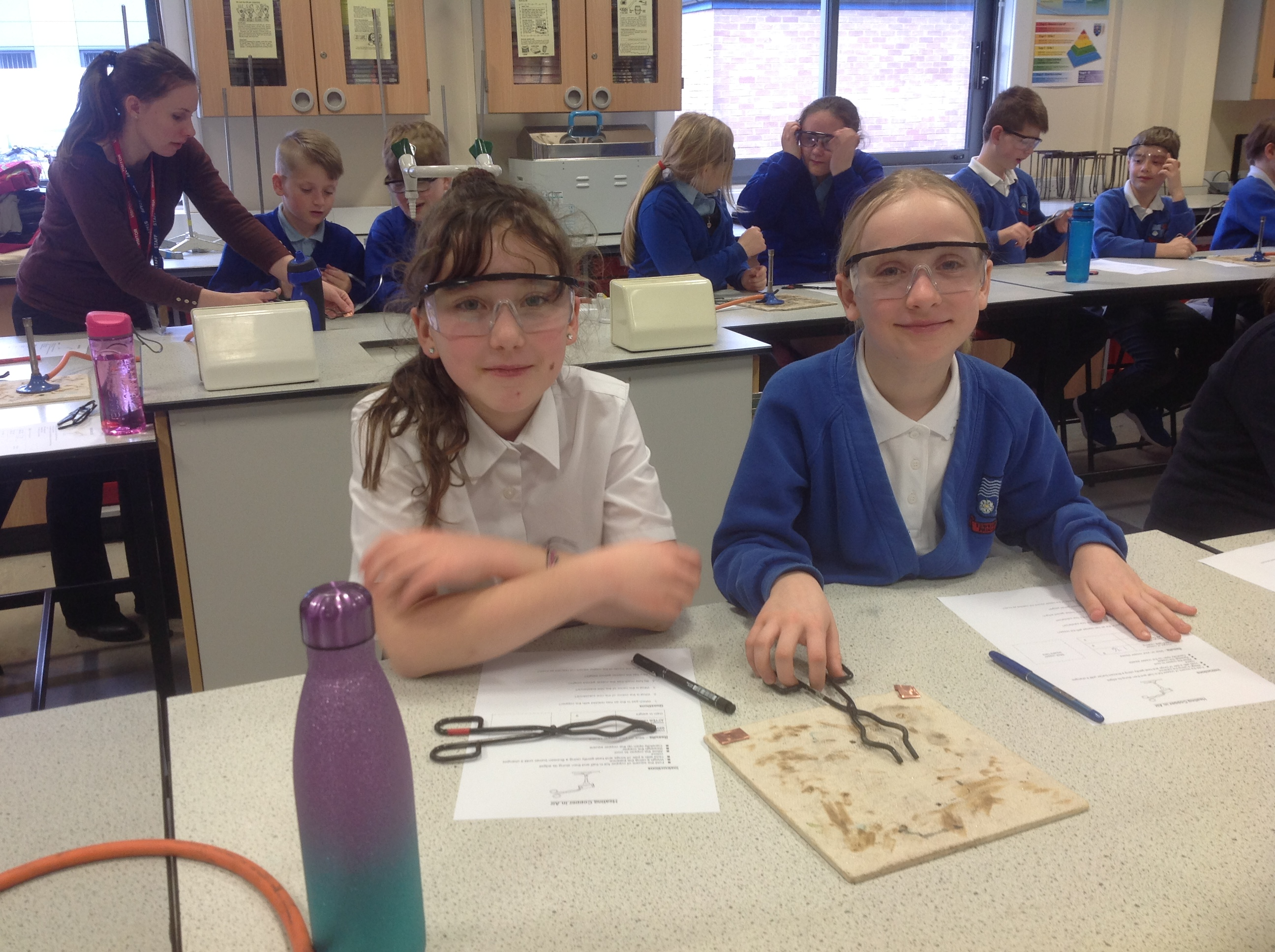 Year 5 enjoy secondary school taster day