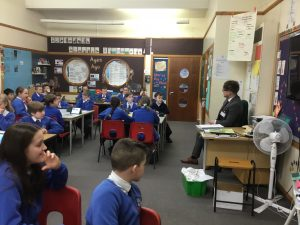 Estate Agent visits Year 6!