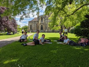 Year 5 enjoy a trip to the Abbey Grounds